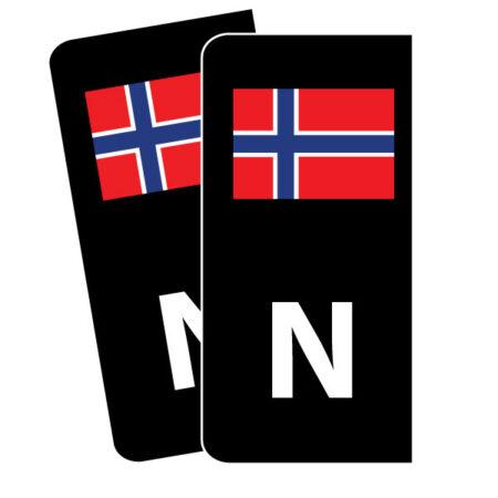 Skiltmerker til bil - Nmerker med god passform - Ekstraskilt.no